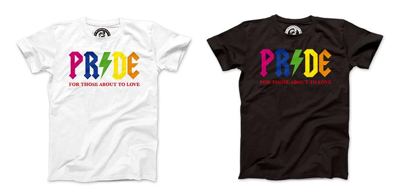 Camisetas orgullo gay